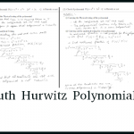 Routh Hurwitz Polynomial