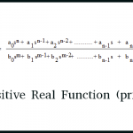 Positive Real Function (prf)